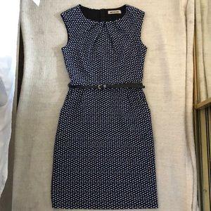 Womens cap sleeve work dress